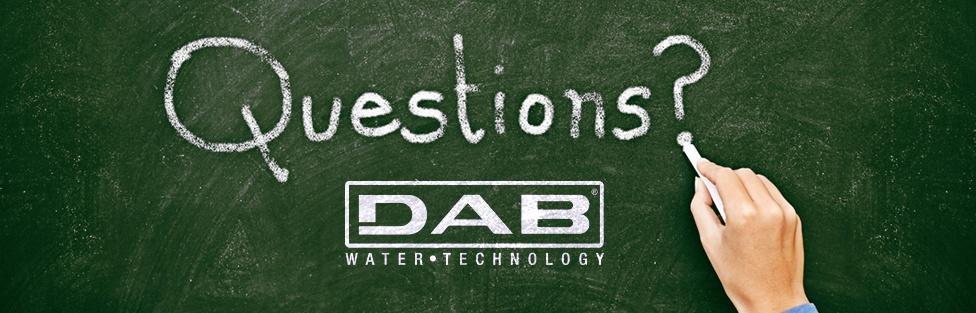 Preguntas Frecuentes DAB Pumps