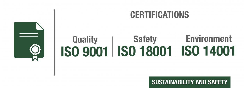 Certificaciones DAB Group